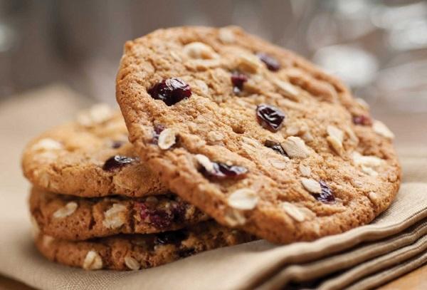 Овсяное печенье с шоколадной крошкой калорийность