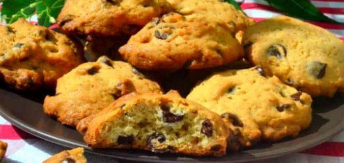 Печиво з шоколадними краплями