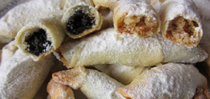 Обалденние рогалики — найтонше, хрустке тісто і багато солодкої смачної начинки!
