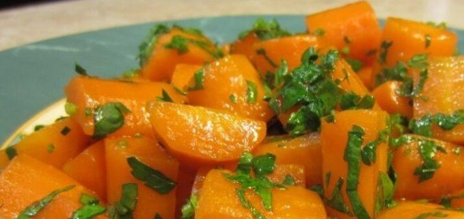 Гаджар Сабжи — глазурована морква