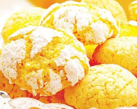 Домашнє печиво з апельсиновою цедрою і корицею