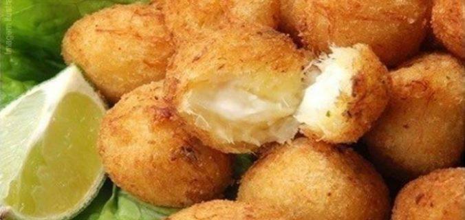 Закусочні сирні кульки
