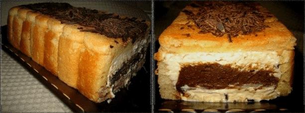 Ніжний пиріг без випічки печива «Савоярді» — родзинка цього десерту в начинці!