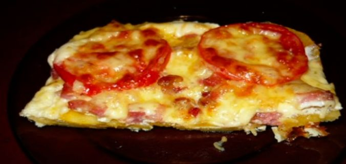 Ніжна піца без тесту