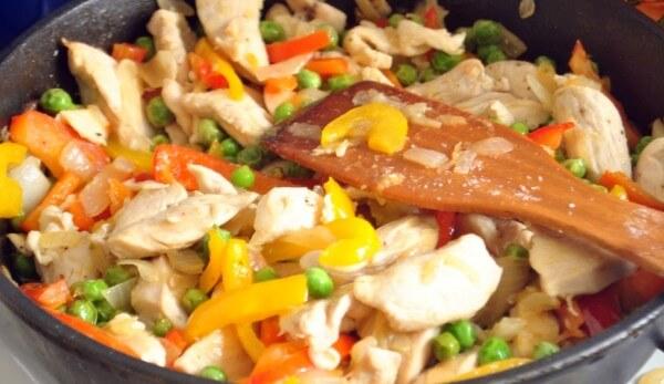 Тушить овощи на сковороде рецепт с фото