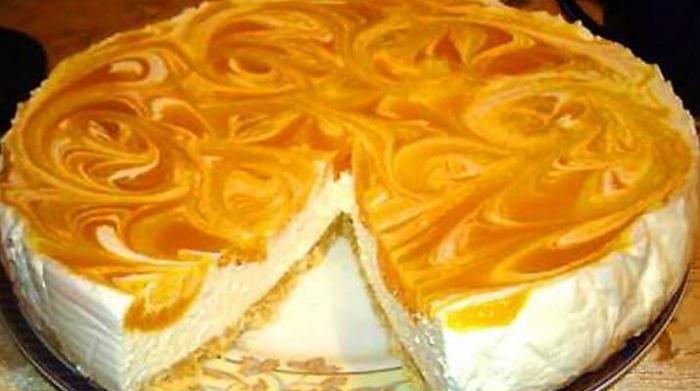 Торт с абрикосами консервированными рецепт