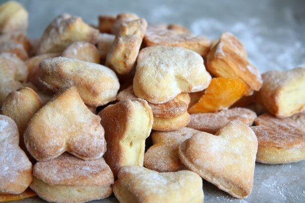Печиво з тіста на сметані