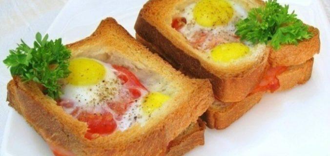 Шикарний і смачний сніданок для справжніх чоловіків