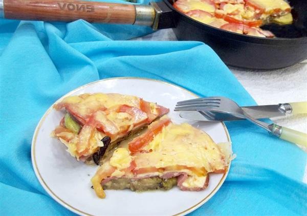 Піца з кабачків і баклажанів в духовці: рецепт з фото