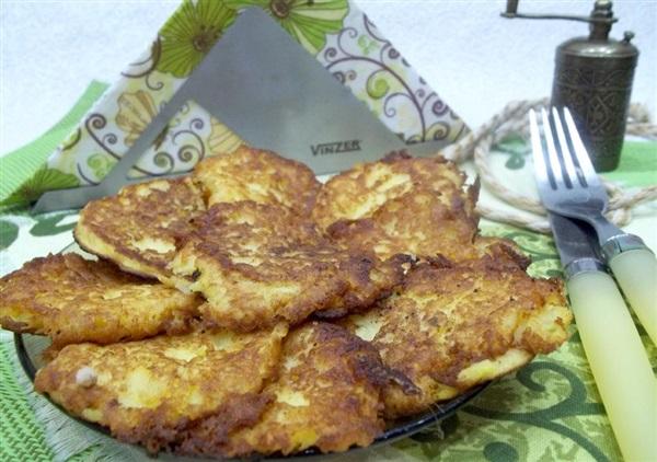 Оладки з картопляного пюре: покрокове приготування