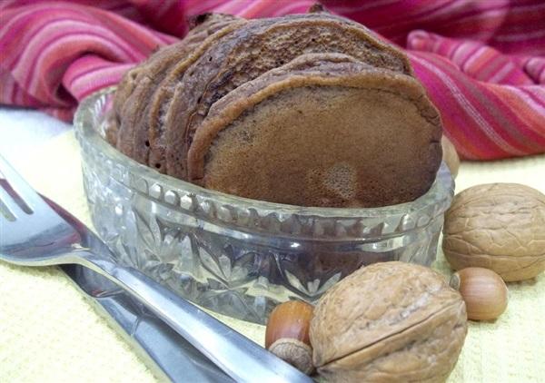Шоколадні оладки на кефірі: покрокове приготування