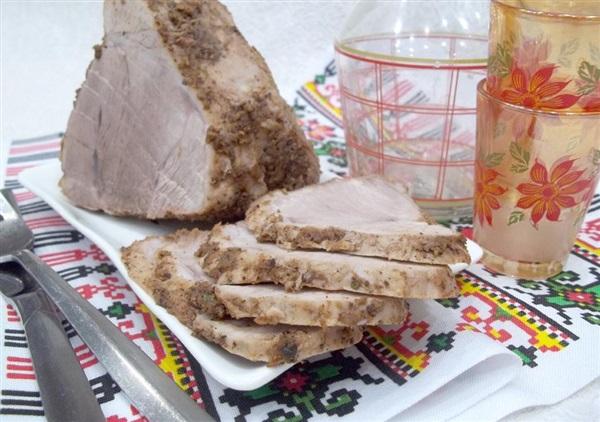 Варена буженина: рецепт з свинини