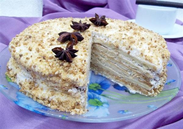 Торт «Медовик»: покрокове приготування