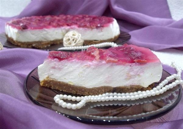 Желейний торт без випічки: покроковий рецепт
