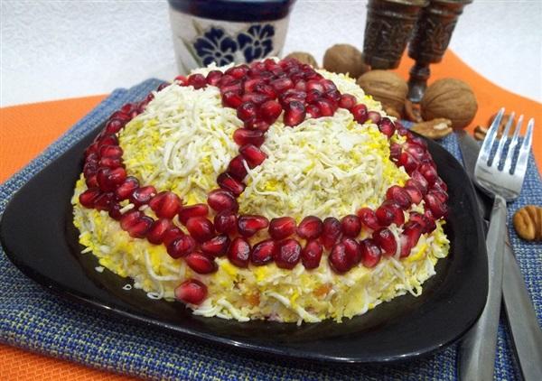 Салат «Шапка ченця»: покроковий рецепт