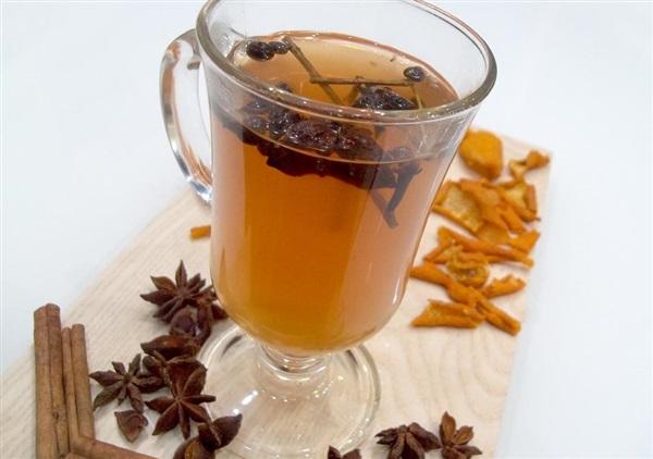 Цитрусовий чай з імбиром і корицею — як приготувати?