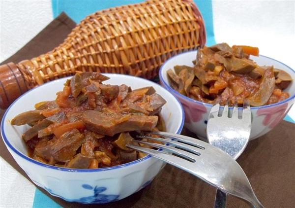 Нирки з овочами в соусі: покроковий рецепт