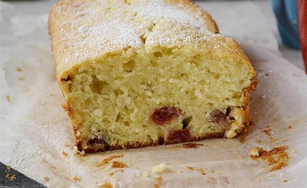 Сирний кекс з вишнями: рецепт з фото