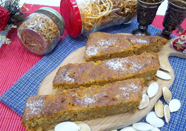 Гарбузовий кекс з манкою і вівсянкою без борошна: покроковий рецепт