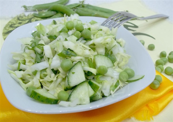 Зелений салат: рецепт для здоровя