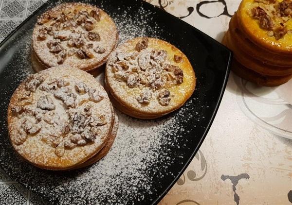 Пісочне печиво з горіхами: рецепт з фото, як приготувати