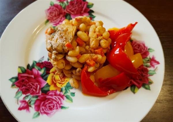 Квасоля з куркою і овочами: рецепт з фото, як приготувати