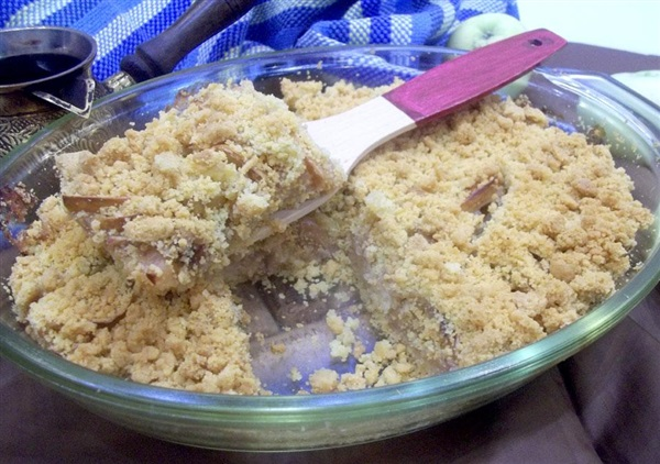 Пісочний пиріг з яблуками: покрокові фото, відео