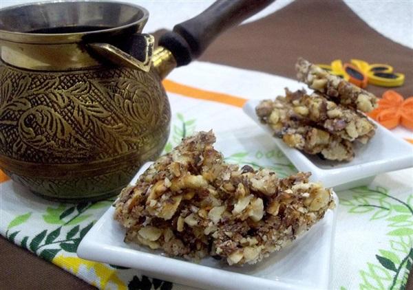 Цукерки Грильяж з волоських горіхів: покроковий рецепт з фото